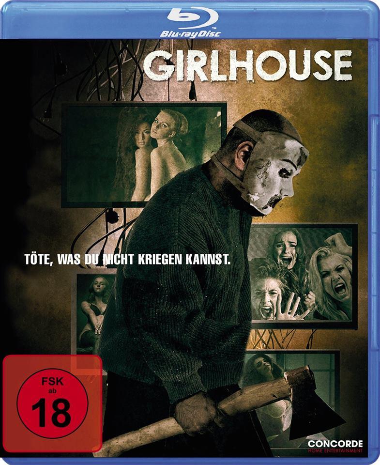 Girlhouse - BD Cover