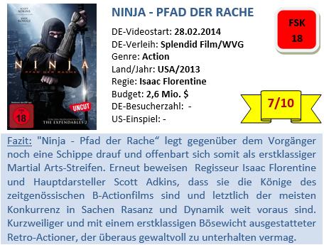 Ninja 2 - Bewertung