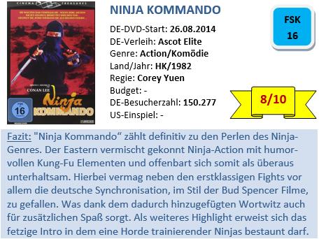 Ninja Kommando - Bewertung