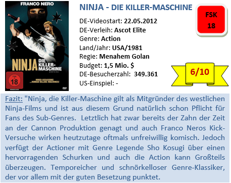Ninja- die Killer-Maschine
