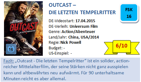 Outcast - Bewertung