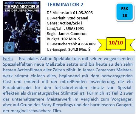 Terminator 2 - Bewertung