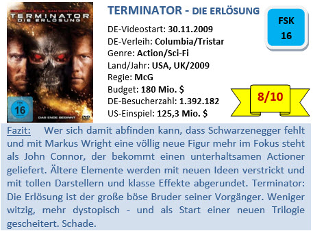 Terminator 4 - Bewertung