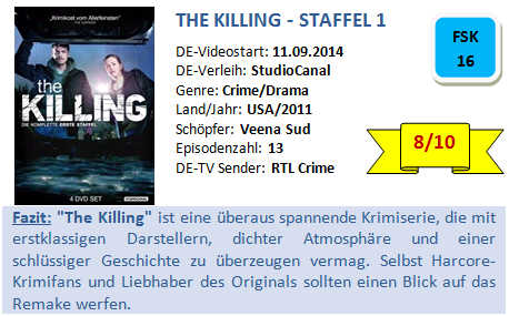 The Killing - S1 - Bewertung