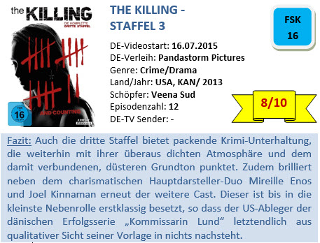 The Killing - S3 - Bewertung