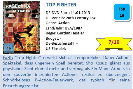Top Fighter - Bewertung