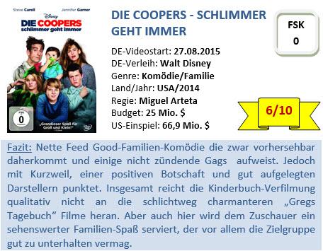 Die Coopers - Bewertung