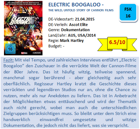 Electric Boogaloo - Bewertung