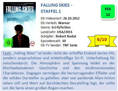 Falling Skies - S1 - Bewertung