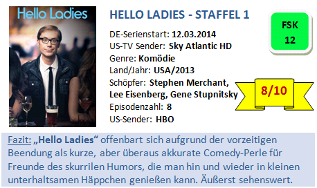 Hello Ladies - Bewertung