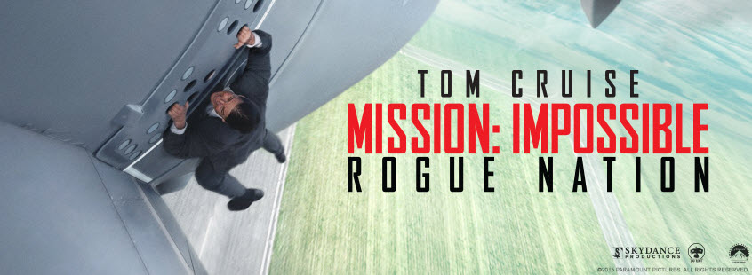 Mission Impossible 5 - Banner