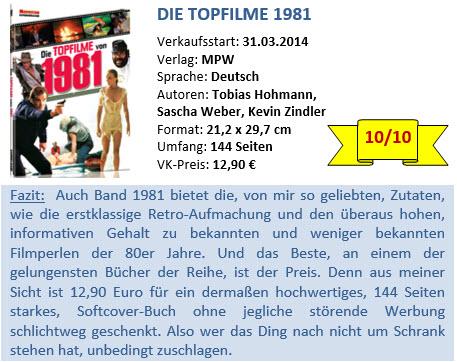 Top Filme 1981 - Bewertung