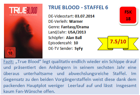 True Blood - S6 - Bewertung