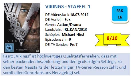 Vikings Bewertung
