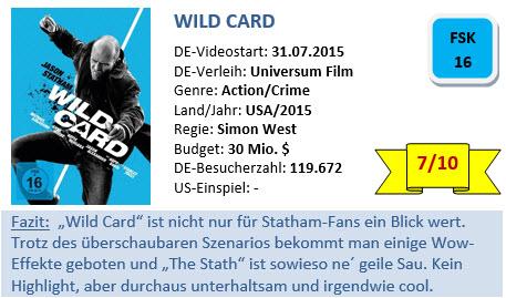 Wild Card - Bewertung