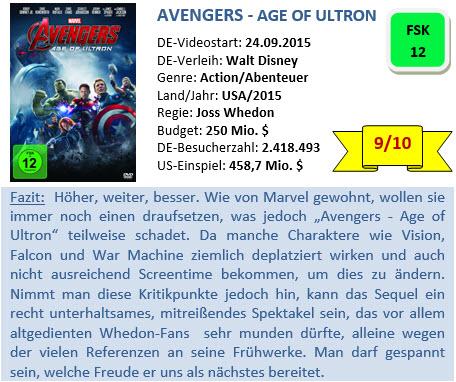 Avengers 2 - Bewertung