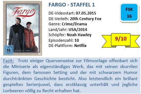 Fargo - Staffel 1 - Bewertung