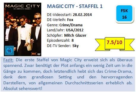 Magic City - Bewertung
