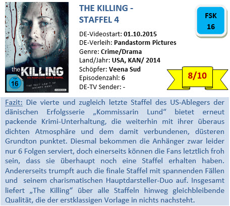The Killing - S4 - Bewertung