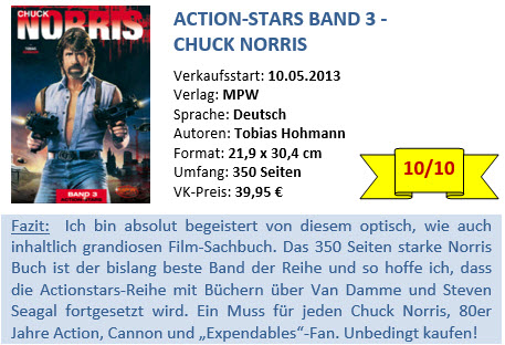 Action Stars Band 3 - Chuck Norris - Bewertung