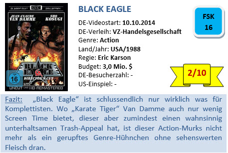 Black Eagle - Bewertung