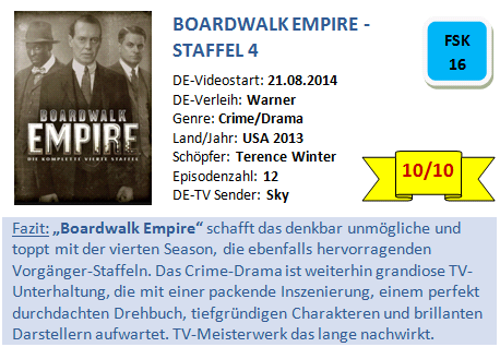 Boardwalk Empire - S4 - Bewertung