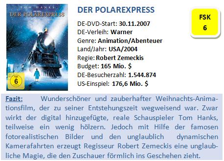 Der Polarexpress - Bewertung
