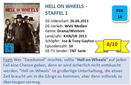 Hell On Wheels Kritik