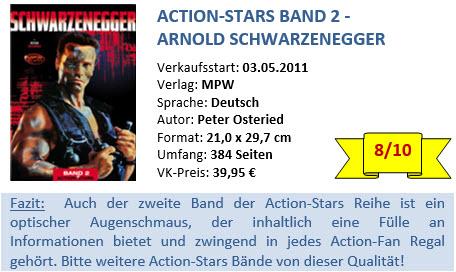Action Stars Band 2 - Schwarzenegger - Bewertung