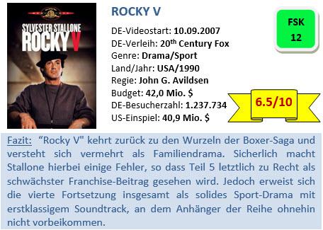 Rocky 5 - Bewertung