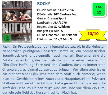 Rocky - Bewertung