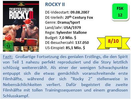 Rocky II - Bewertung