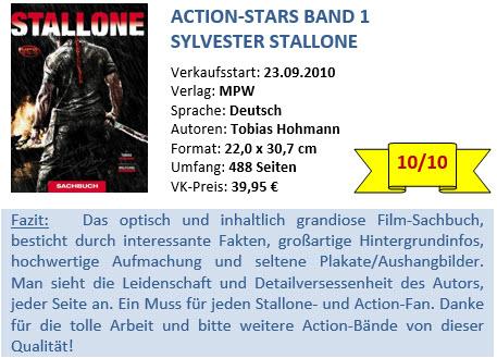 Action Stars Band 1 - Stallone - Bewertung
