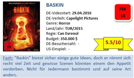 Baskin - Bewertung