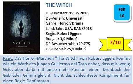 The Witch - Bewertung