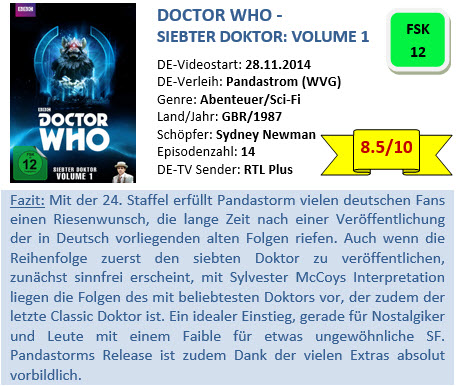 Doctor Who - Siebter Doktor - Vol. 1