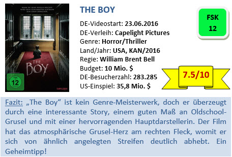The Boy - Bewertung