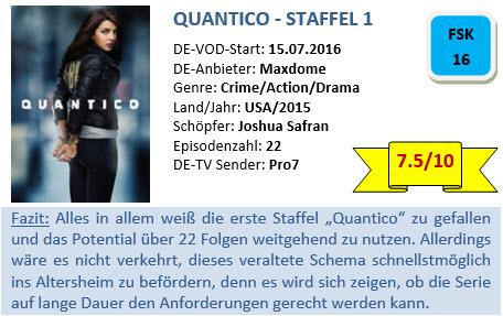 quantico-staffel-1-bewertung