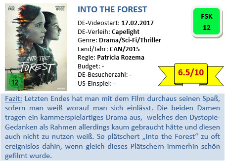 Into the Forest - Bewertung