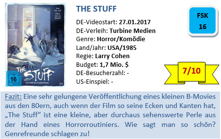 The Stuff - Bewertung