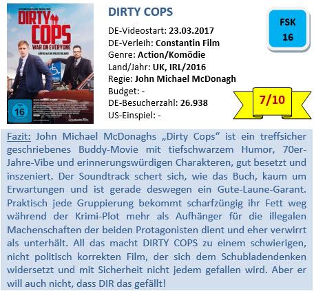 Dirty Cops - Bewertung