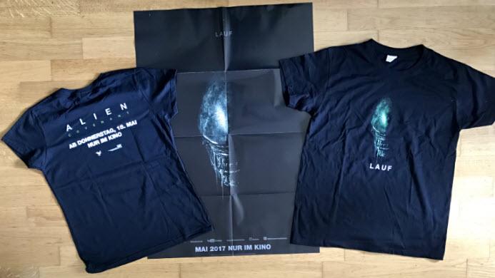 Alien - Gewinnspiel