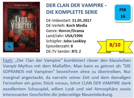 Der Clan der Vampire - Bewertung
