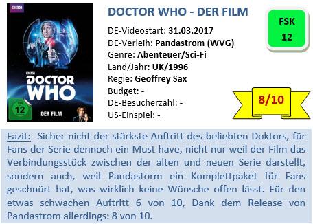 Doctor Who - Der Film - Bewertung
