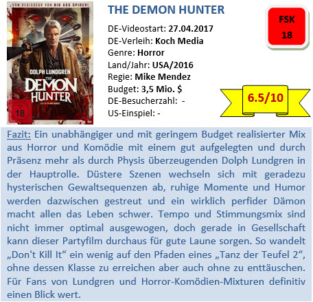 The Demon Hunter - Bewertung