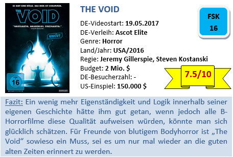 The Void - Bewertung