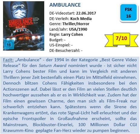 Ambulance - Bewertung
