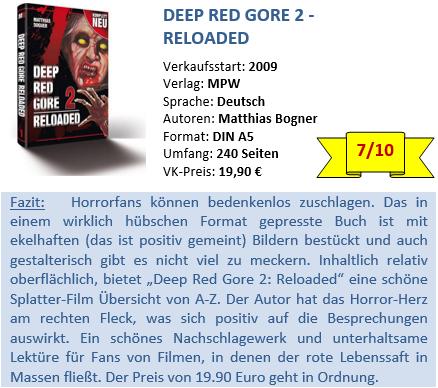 Deep Red Gore 2 - Bewertung