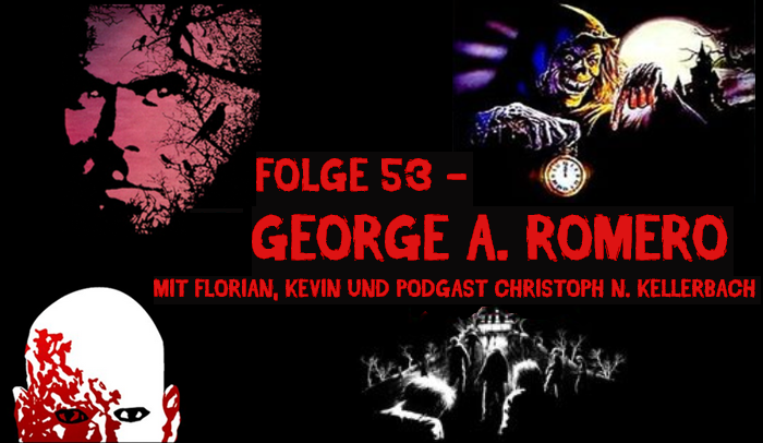 George Romero - Podcast Banner