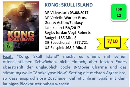 Kong - Skull Island - Bewertung